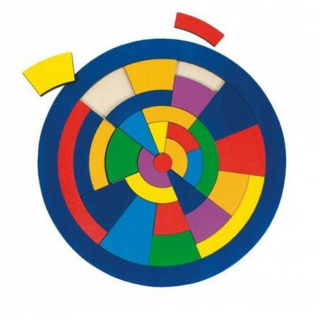 Kör puzzle 29 db-os színes