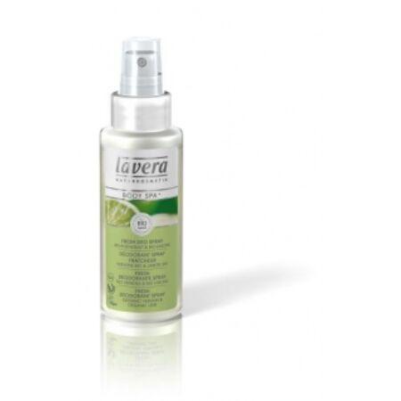 lavera Pumpás dezodor vasfű-lime mindkét nem számára