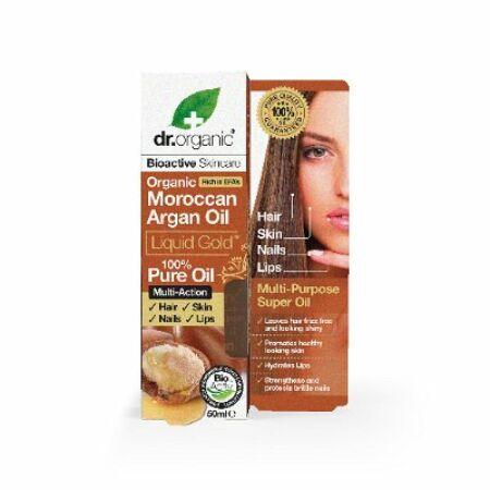 Dr. Organic 100% marokkói argán olaj 50ml