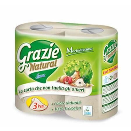 Grazie Natural öko 4 maxi lux 3 rétegű öko háztartási toalettpapír