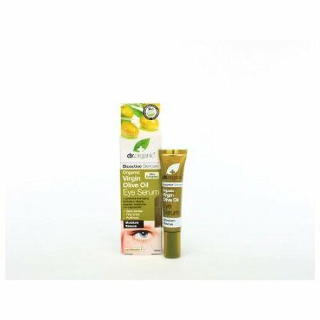 Dr. Organic Bio oliva öregedésgátló szemkörnyék ápoló szérum F vitaminnal 15ml