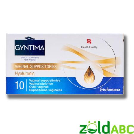GYNTIMA Hyaluronic hüvelykúp 10 db