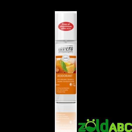 lavera Pumpás dezodor narancs-homoktövis, 75ml