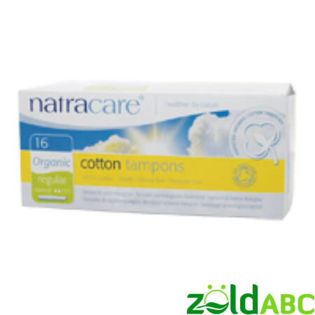 Natracare regular tampon aplikátorral - 16db
