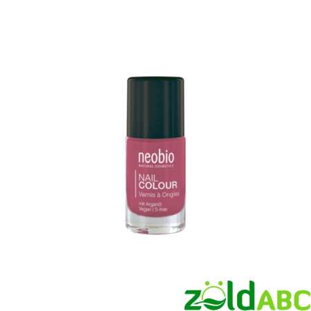 "Neobio Körömlakk No. 04 ""Lovely Hibiscus"", 8 ml"
