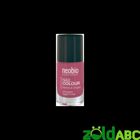 """Neobio Körömlakk No. 04 """"Lovely Hibiscus"""", 8 ml"""