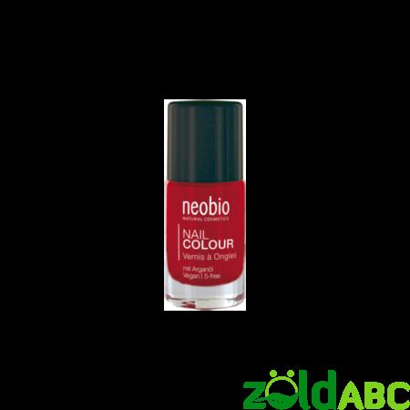 """Neobio Körömlakk No. 05 """"Wild Strawberry"""", 8 ml"""