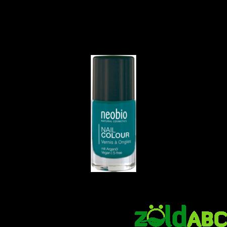 """Neobio Körömlakk No. 09 """"Precious Turquoise"""", 8 ml-KISÖPRÉS!"""