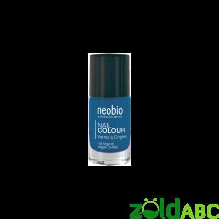 """Neobio Körömlakk No. 08 """"Shyni Blue"""", 8 ml"""