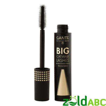 Sante Big Catwalk szempillaspirál-01 Black, 10 ml