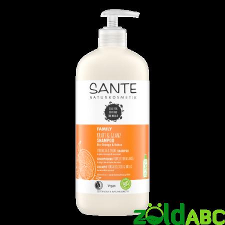 Sante Családi selyemfény sampon - bio narancs & kókusz 500 ml