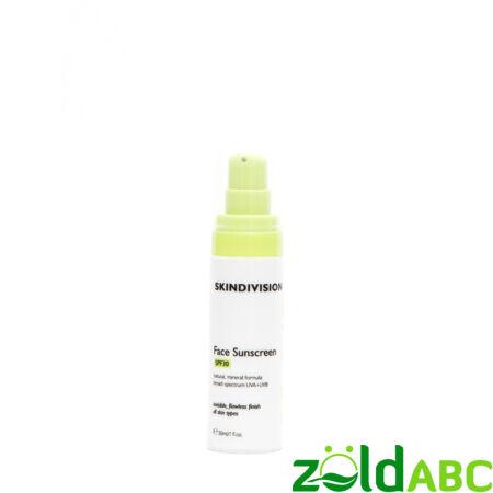 SkinDivision Fényvédő Krém Arcra SPF30, 30ml