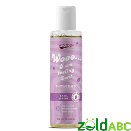 Wooden Spoon Bio Tusfürdő-Zen, 200 ml