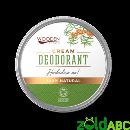 Wooden Spoon Bio Gyógynövényes krémdezodor, 60 ml