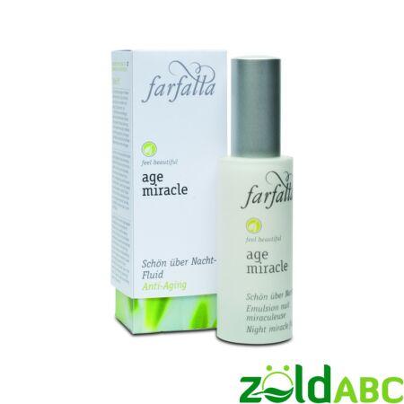 Farfalla Bio Age Miracle Éjszakai szépség szérum 30 ml