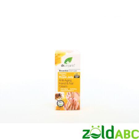 Dr Organic Méhpempő Öregedésgátló Kéz- és körömápoló krém 125 ml