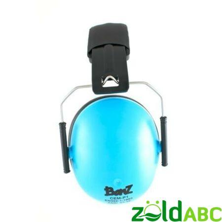 Banz Kids gyermek hallásvédő fülvédő 2-10 éves korig, Kék