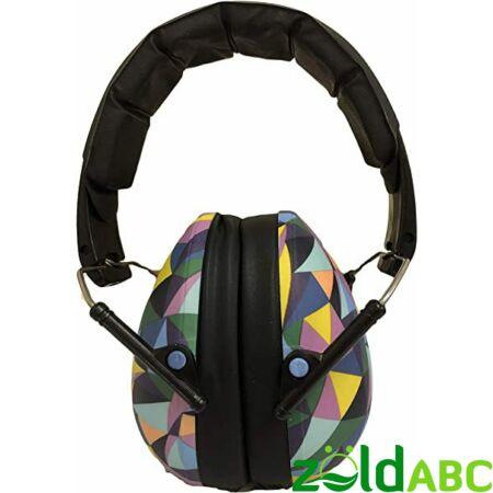 Banz Kids gyermek hallásvédő fülvédő 3-10 éves korig, Kaleidoscope
