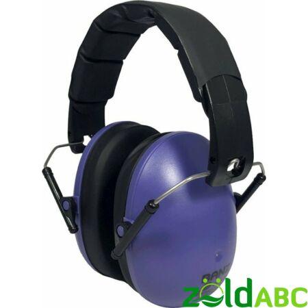 Banz Kids gyermek hallásvédő fülvédő 3-10 éves korig, Lila
