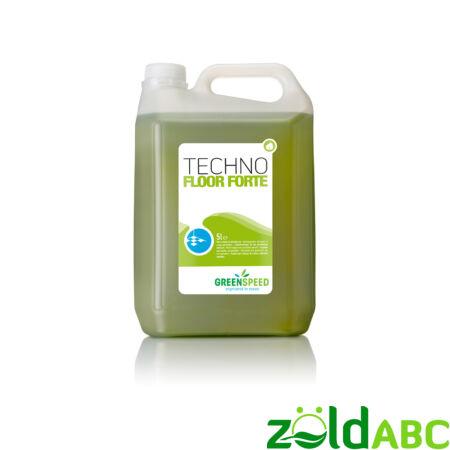 Greenspeed Techno Floor Forte, gépi/kézi padozat tisztítószer koncentrátum, 5l