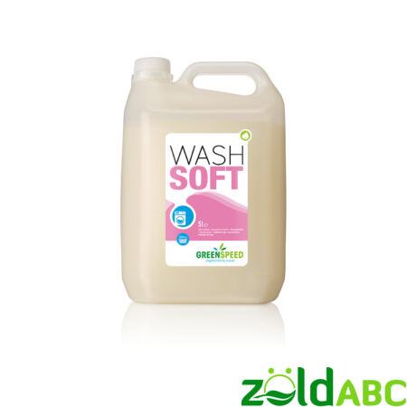 Greenspeed Wash Soft öblítőszer, 5l