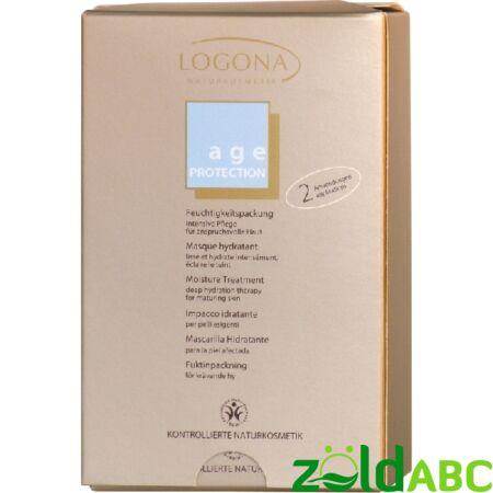 Logona Hidratáló pakolás - érett bőrre 4×15ml (dupla tasak)