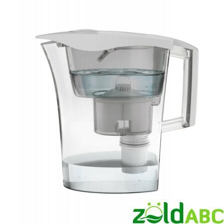 LAICA Predator vízszűrő kancsó, germ-stop baktériumszűrő betéttel, 1 db, fehér