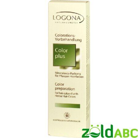 Logona Color Plus-ásványi előkészítő pakolás 150ml