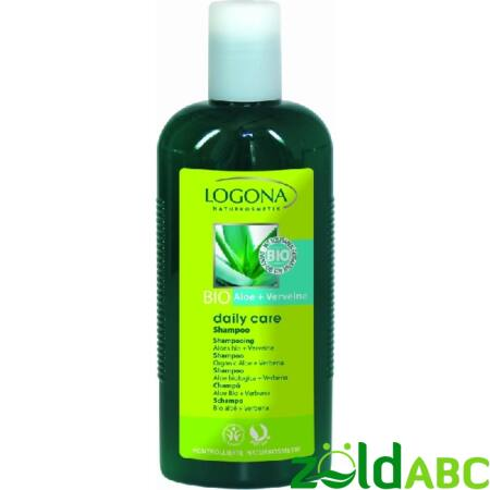 Logona Daily Care Sampon bio Aloe&Verbéna  250ml