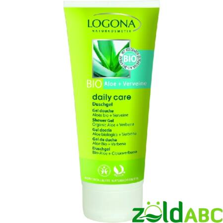 Logona Daily CareTusfürdő bio Aloe&Verbéna 200ml