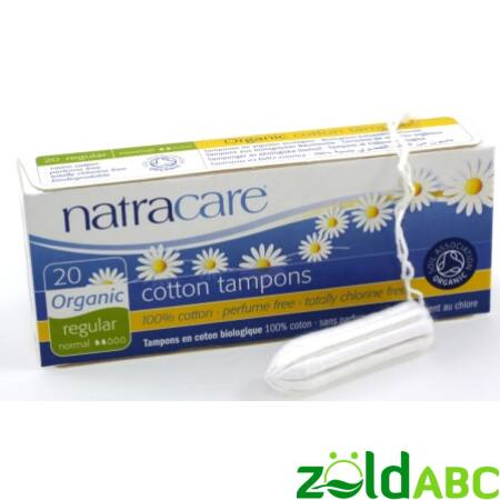 Natracare normál tampon - 20db