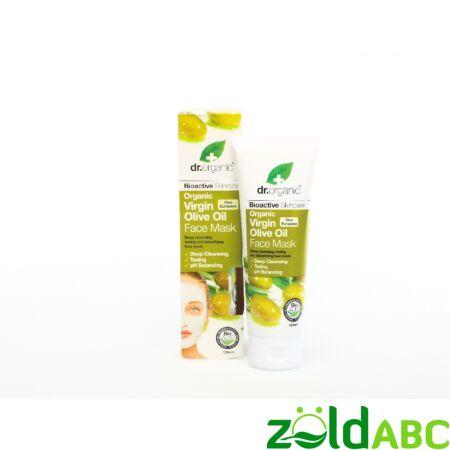 Dr. Organic Oliva Arcápló pakolás 125 ml