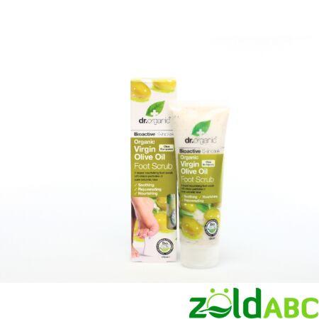 Dr. Organic Oliva Lábfrissitő radír, 150 ml
