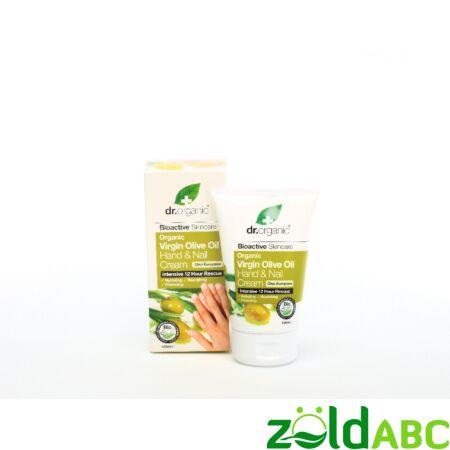 Dr. Organic Oliva Kéz-és körömápoló, 125 ml