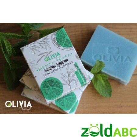 OLIVIA Natural sampon szappan, Menta-teafa 90g
