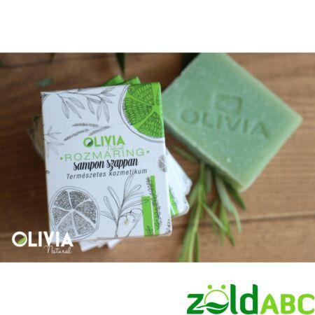 OLIVIA Natural sampon szappan, Rozmaring 90g