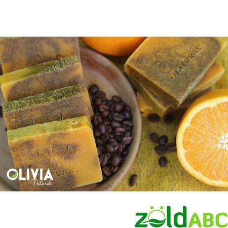 OLIVIA Natural szappan, Kávé-narancs 90g