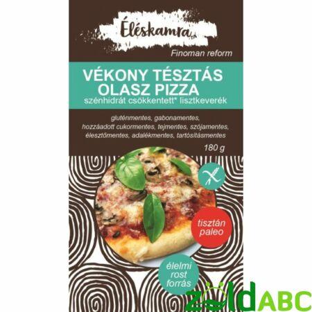 Vékonytésztás Olasz Pizza Lisztkeverék Paleolit Éléskamra 180g