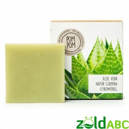 PomPom Aloe vera natúr szappan, 100g