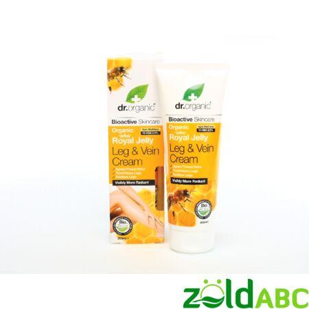 Dr Organic Méhpempő Lábápoló, és seprűvéna krém 200 ml
