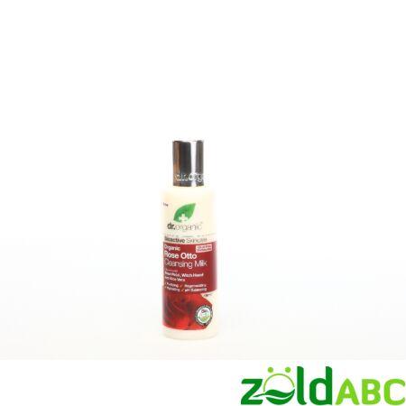 Dr Organic Bio Damaszkuszi Rózsa Arctisztító tej 125 ml