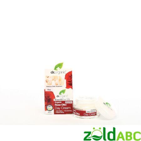 Dr Organic Bio Damaszkuszi Rózsa Nappali krém 50 ml