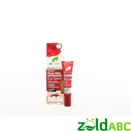 Dr Organic Bio Damaszkuszi Rózsa Szemkörnyék ápoló szérum 15 ml