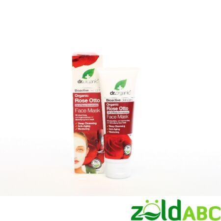 Dr Organic Bio Damaszkuszi Rózsa Arcpakolás 125 ml