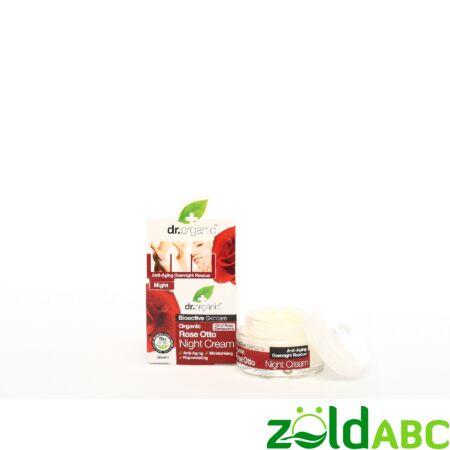 Dr Organic Bio Damaszkuszi Rózsa Éjszakai krém 50 ml