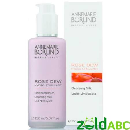 Annemarie Börlind Hydro Stimulant Rose Dew Arctisztító tej - vízhiányos bőrre 150 ml