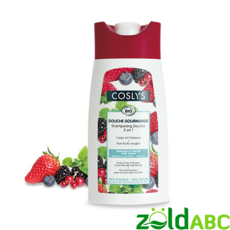Coslys bio tusfürdő és sampon erdei gyümölccsel 250ml