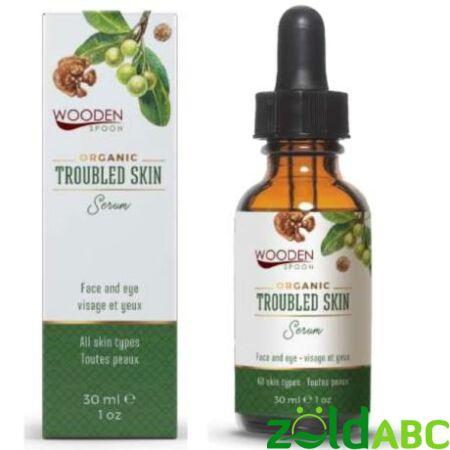 Wooden Spoon Arcápoló szérum-Problémás bőrre, 30 ml