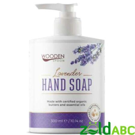 Wooden Spoon Bio Folyékony kézmosó szappan-Levendula, 300 ml
