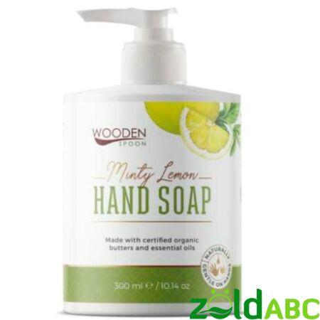 Wooden Spoon Bio Folyékony kézmosó szappan-Menta, citronella, 300 ml